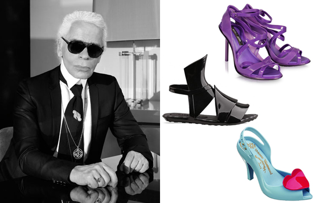 Karl-Lagerfeld-collaborates-with-Melissa-footwear