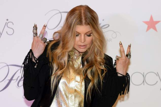 LAS VEGAS, NV - FEBRUARY 19:  Singer Fergie Duhamel appears at Macy's at the Fashion Show mall to promote her Fergie Footwear collection on February 19, 2014 in Las Vegas, Nevada.  (Photo by Ethan Miller/Getty Images)
