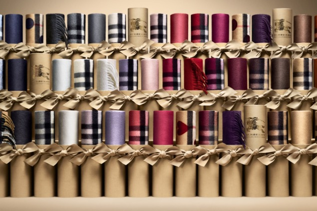 The new Burberry Scarf Bar.