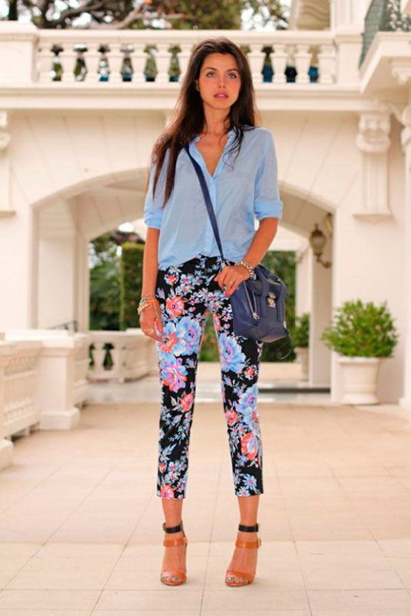 2015-Floral-Pants-For-Women-Street-Style-Trends-4